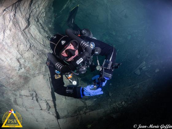 CCR Cave Diver